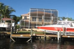 Southwest Cape Coral Sailboat Access Home with Pool