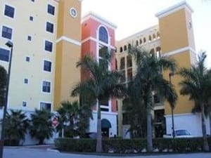 Waterfront condo in Cape Coral