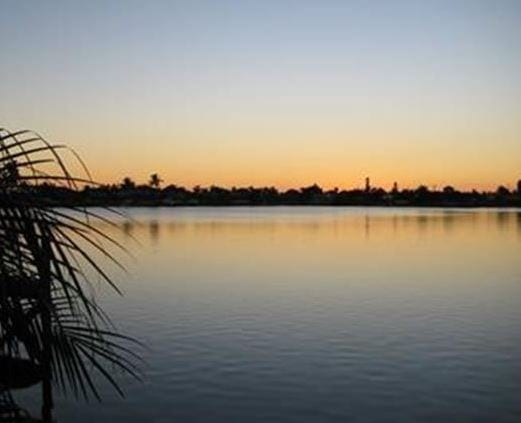 Gulf Access Saltwater Lakes in Cape Coral Called the Eight Lakes