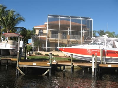 Waterfront Real Estate Homes in Southwest Cape Coral