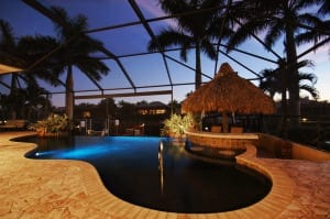 cape coral pool home