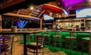 Boathouse Tiki Bar in Cape Coral Yacht Club