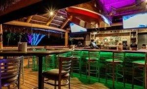 Boathouse Tiki Bar in Cape Coral Yacht Club