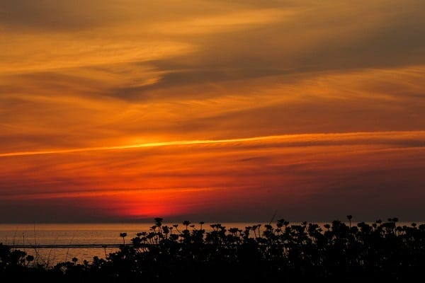 sunset over the gulf of mexico01-2015
