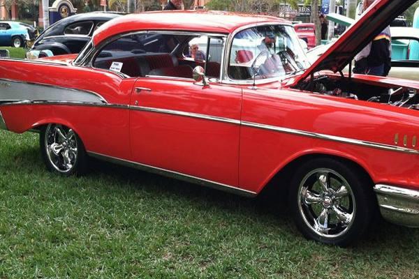 classic car show at Cape Harbour in Cape Coral FL