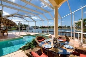 Cape Coral Waterfront Gulf Access Homes