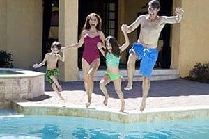 Florida pool home