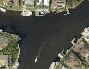Gulf Access Canal Intersecting Canal View