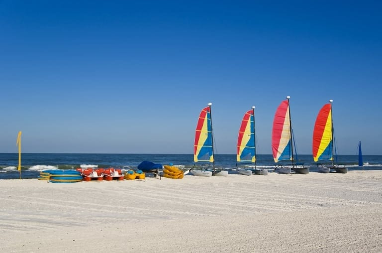 Water Toys on Fort Myers Beach