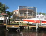 Canal Home Cape Coral with Boat Lift
