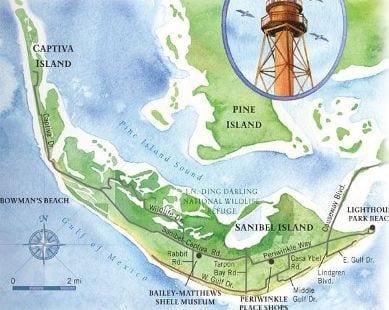 Sanibel Florida Map.Sanibel Florida Map Southwest Florida Dave Sage And Brenda Boss