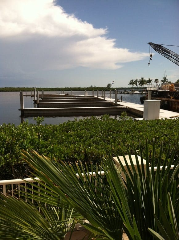 New Docks Going in at Tarpon Point in Cape Coral