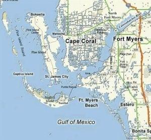 map of southwest florida world map