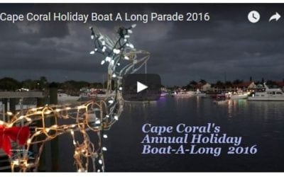 Cape Coral Holiday Boat Along
