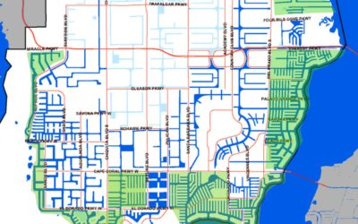 Cape Coral Canal Map
