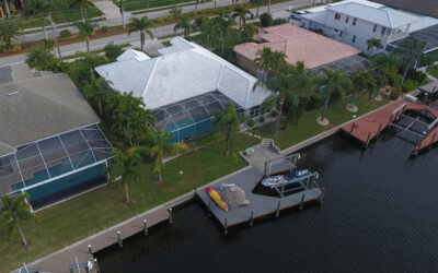 Sunsets! Southwest Cape Coral Sailboat Access Home
