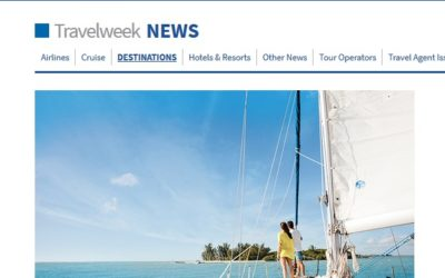 TravelWeek Magazine Explores the Pristine Beaches of Southwest FL by Boat